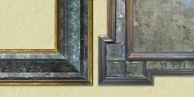 Mirror-frame-detail