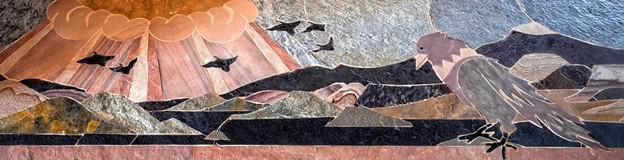 Stone-Mosaic-crow