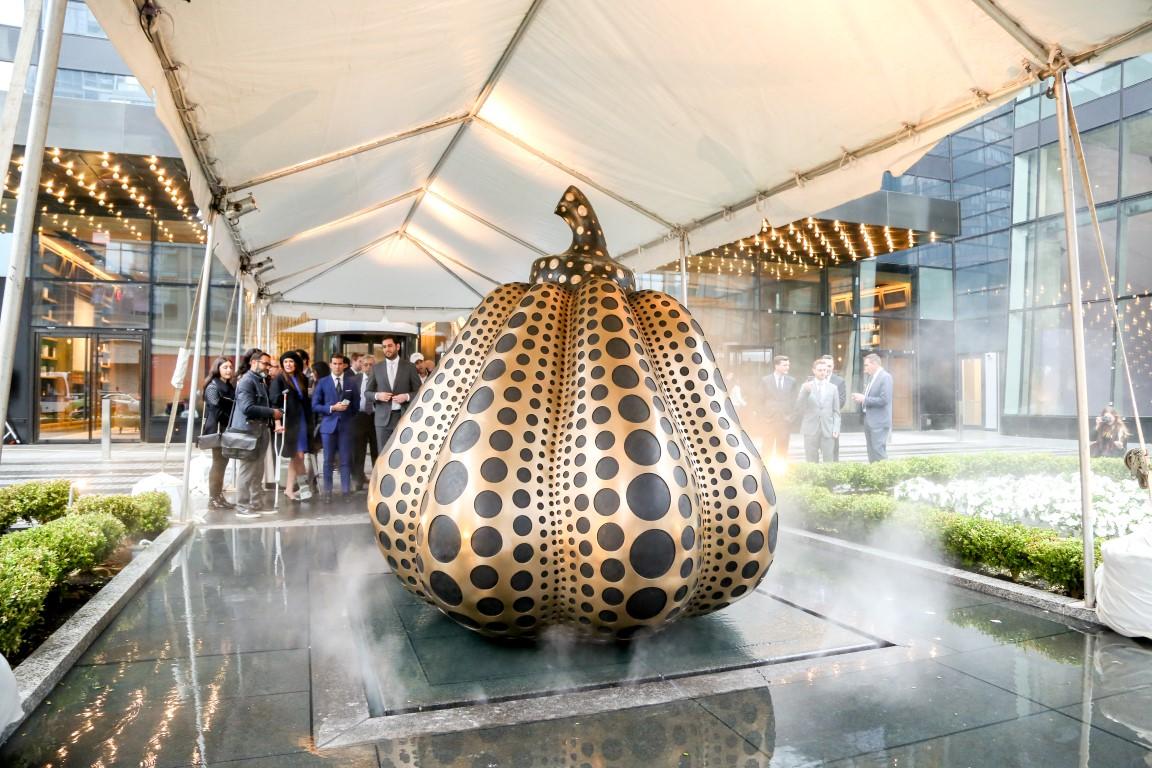 SKY Unveils Artworks by Yayoi Kusama