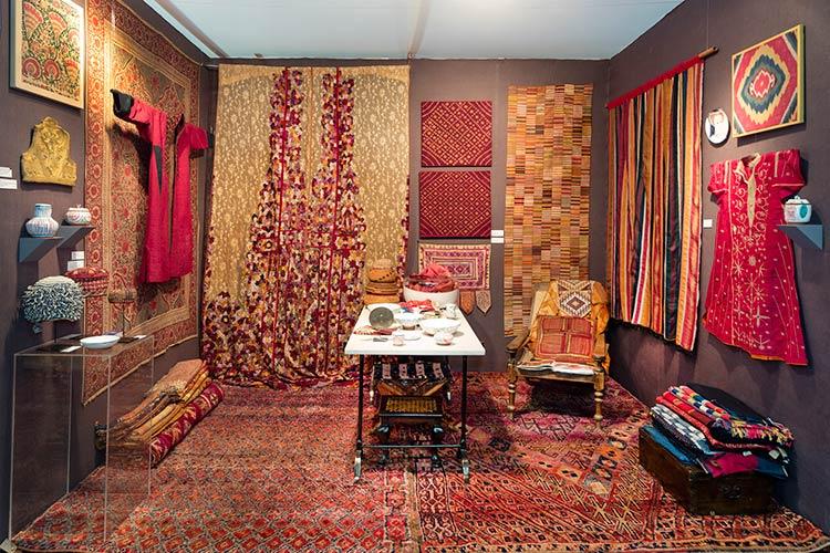 Vibrant Textiles at Molly Hogg Design