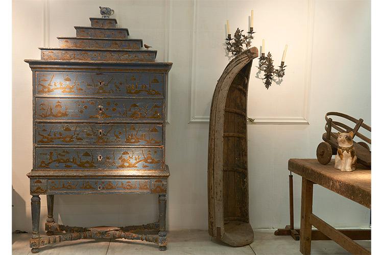 17th-century Dutch Cabinet at Gaby van Schagen