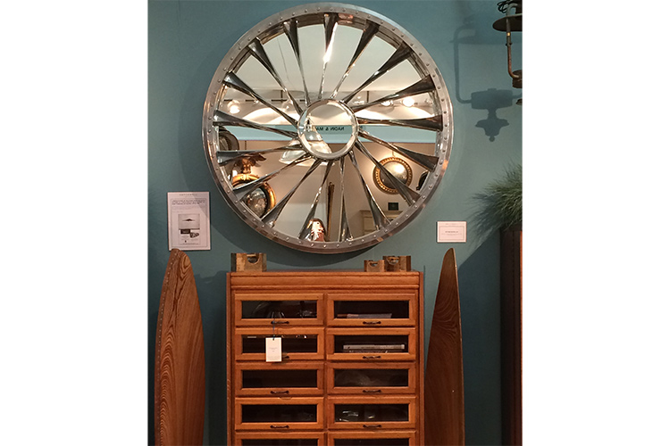 Gleaming Steel at Hatchwell Antiques