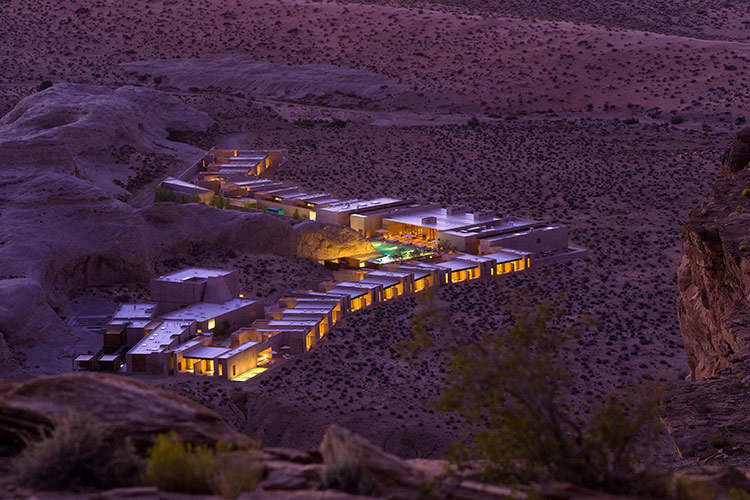 Amangiri- Exterior at Night