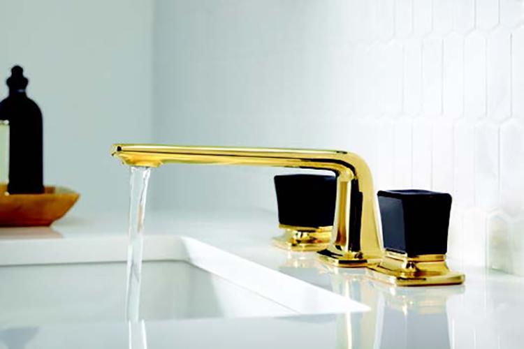 Per Se™ Decorative Collection Black Crystal Knob Handles
