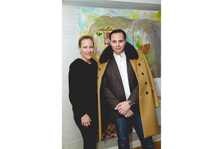 Kristina Huntington & Guy Regal Host Exclusive Art Event