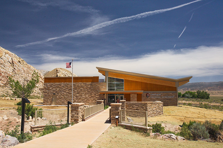 Visitors Center- Dinosaur National Monument