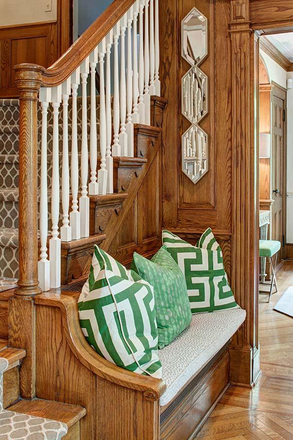 interior designer reawakens tudor revival aspire design and home. Black Bedroom Furniture Sets. Home Design Ideas