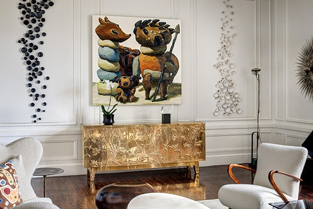 An interior design tribute to peggy guggenheim aspire for Catherine interior designer grand designs