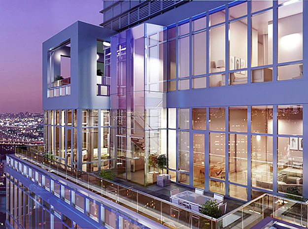 Town new development closes two penthouses at the charles for Penthouse for sale nyc
