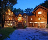 Authentic Log Cabin in Franklin Lakes