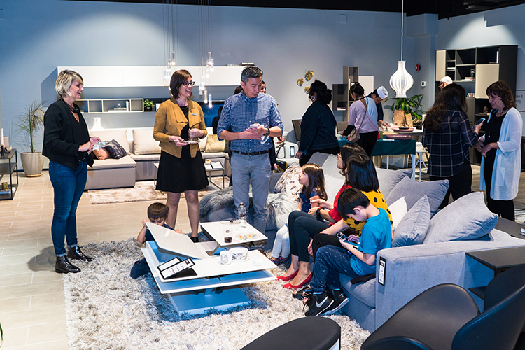 Grand opening of boconcept 39 s bodacious new location for Boconcept karlsruhe
