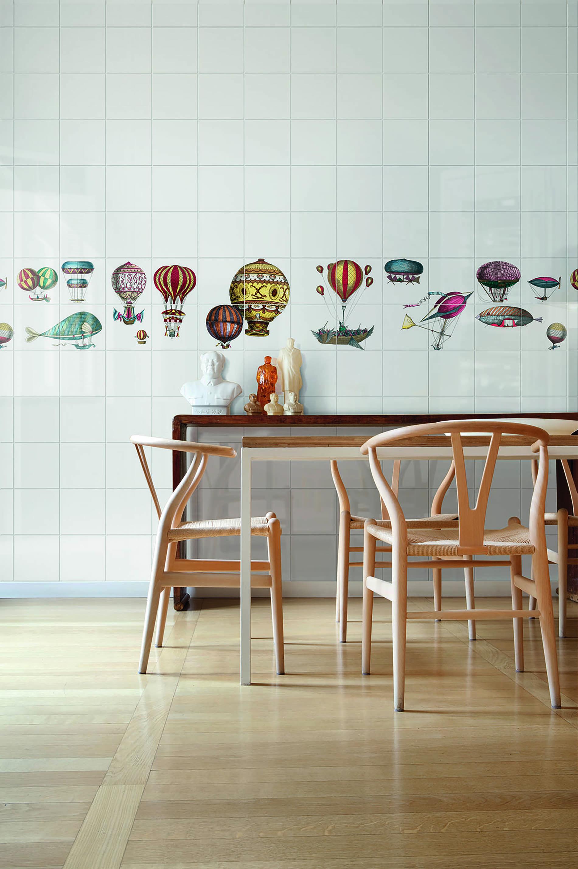 Aspire lookbook ceramic bardelli macchine volanti tile - Piastrelle fornasetti ebay ...
