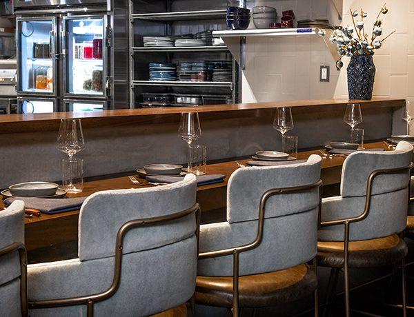 cozy restaurant setting