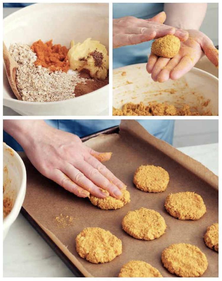 pumpkin cookies veggie based desserts