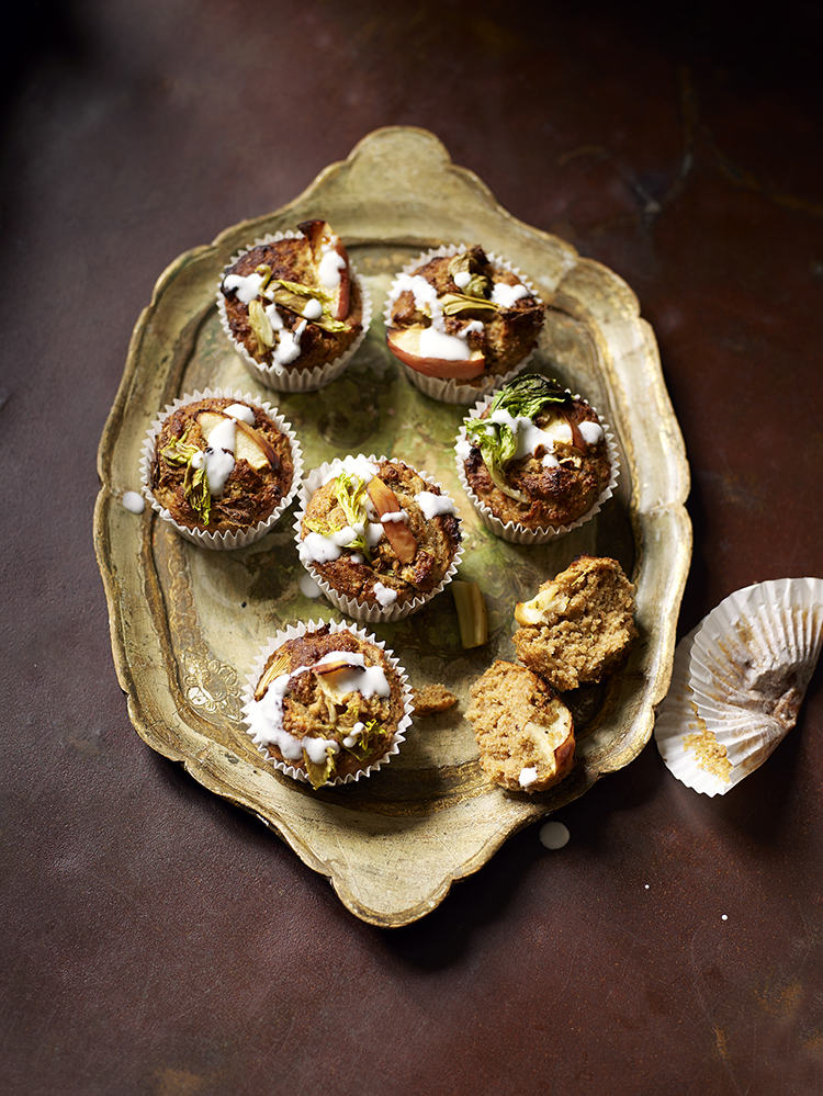 cupcakes made with veggies