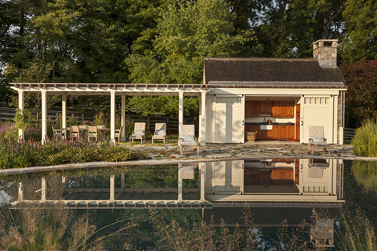 Southern New England Pool House