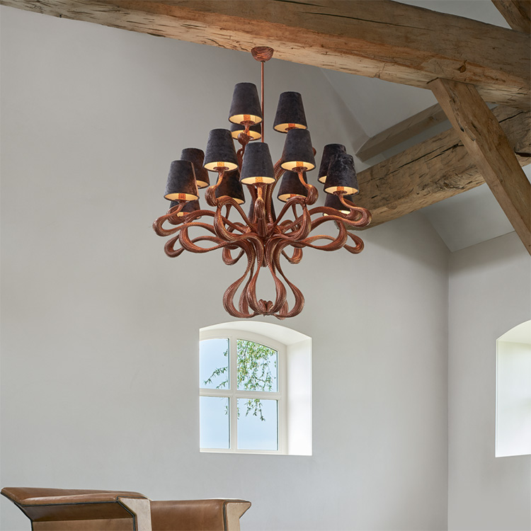 Ode 1647 chandelier Jacco Marris Mitchell Hill