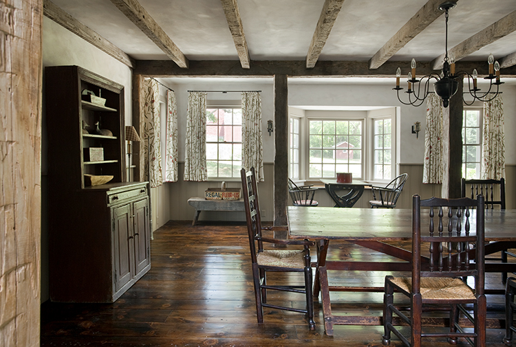 dining room in vintage property with good bones
