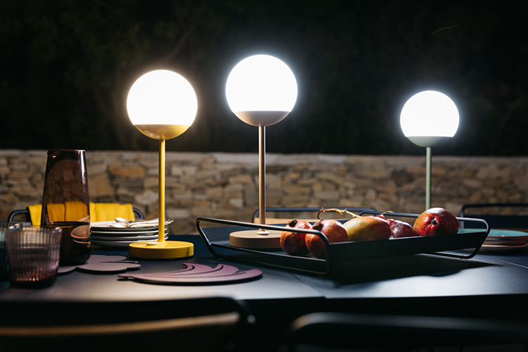 mooon lamp from fermob icff 2019