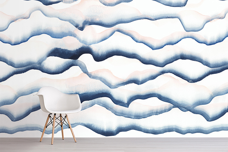 allyn wallpaper in storm by sarah von dreele