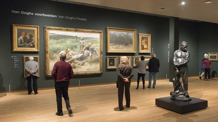 The Van Gogh Museum. Photo by Jan-Kees Steenman