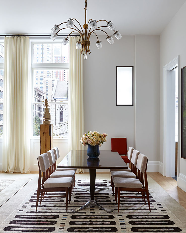 555 west end avenue dining room