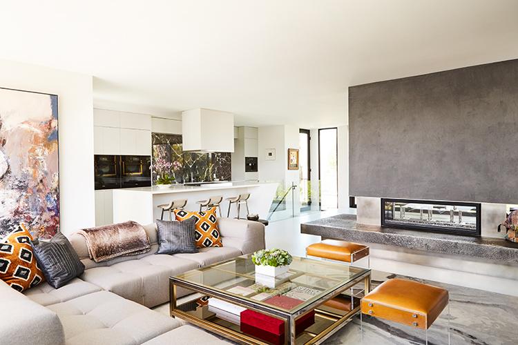venice california open floor plan home