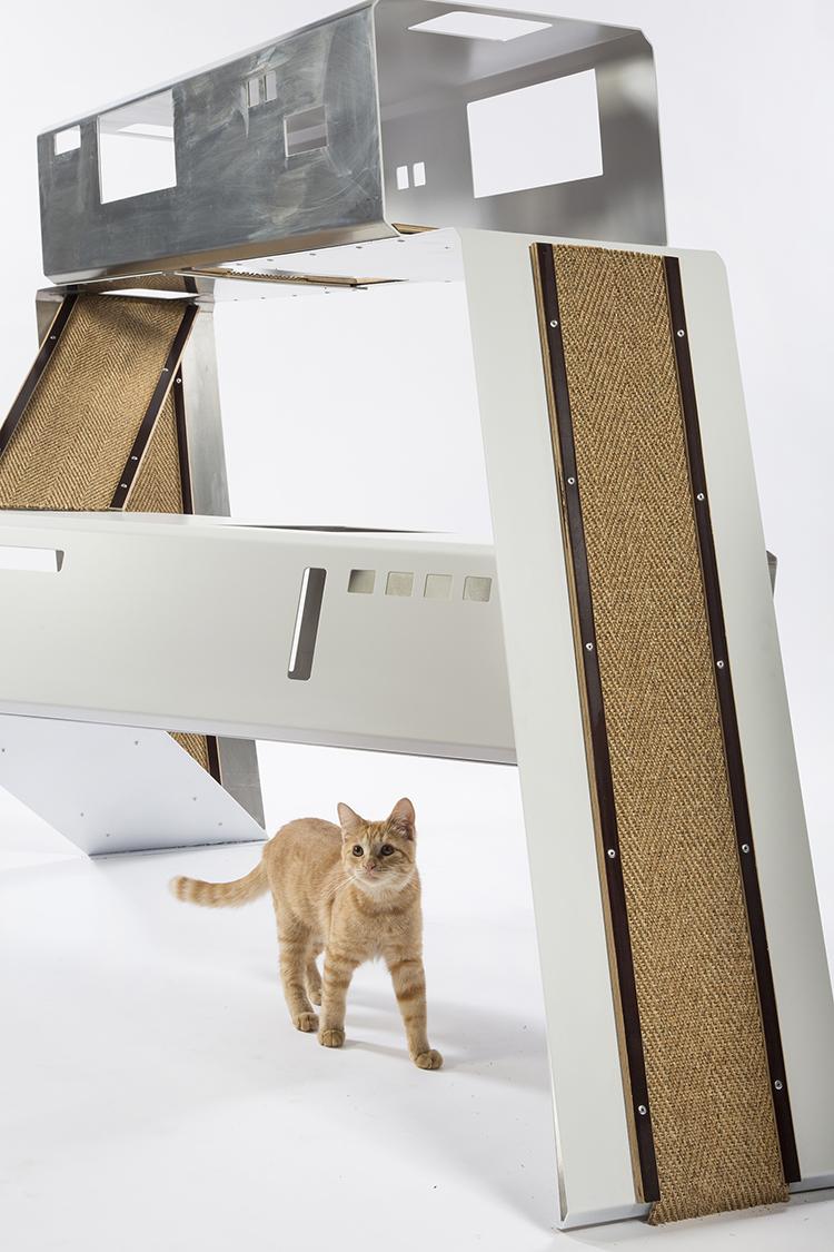 ultramodern cat shelters