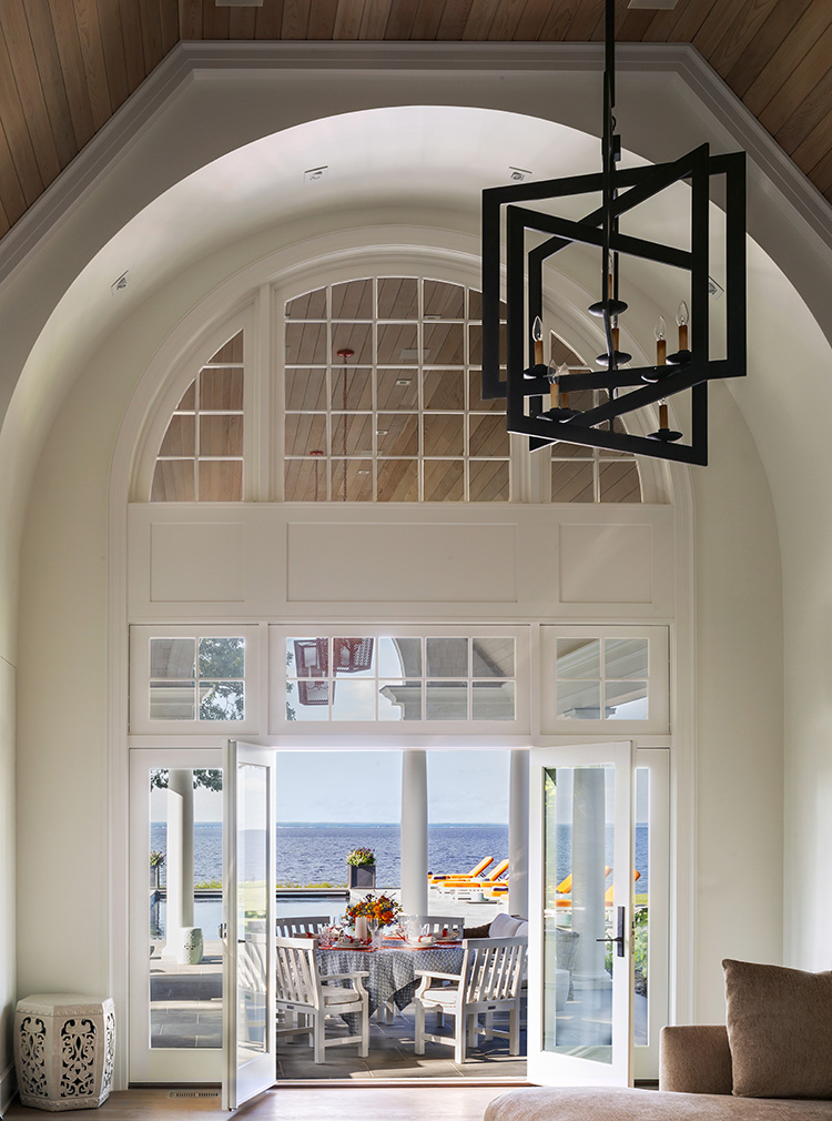 sun-drenched long island home