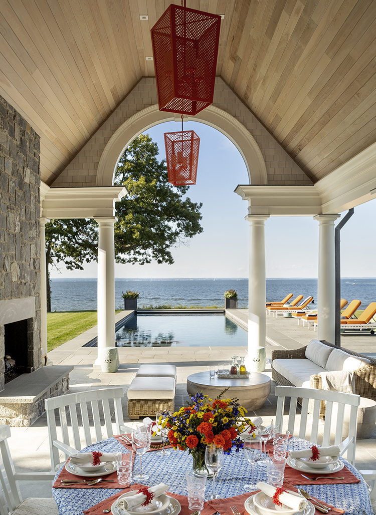 long island sound home patio
