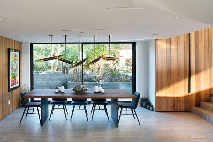 malibu residence dining room