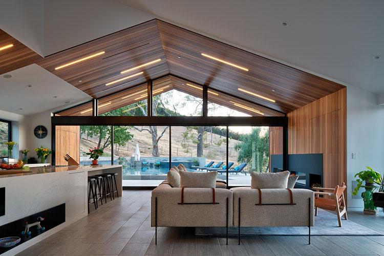 malibu residence living room