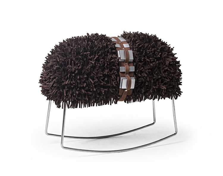 Star Wars furniture line Chewie rocking stool