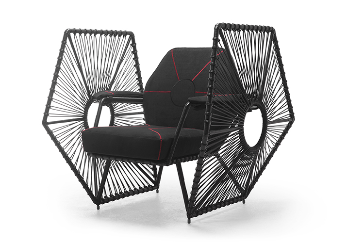 star wars furniture line TIE fighter chair