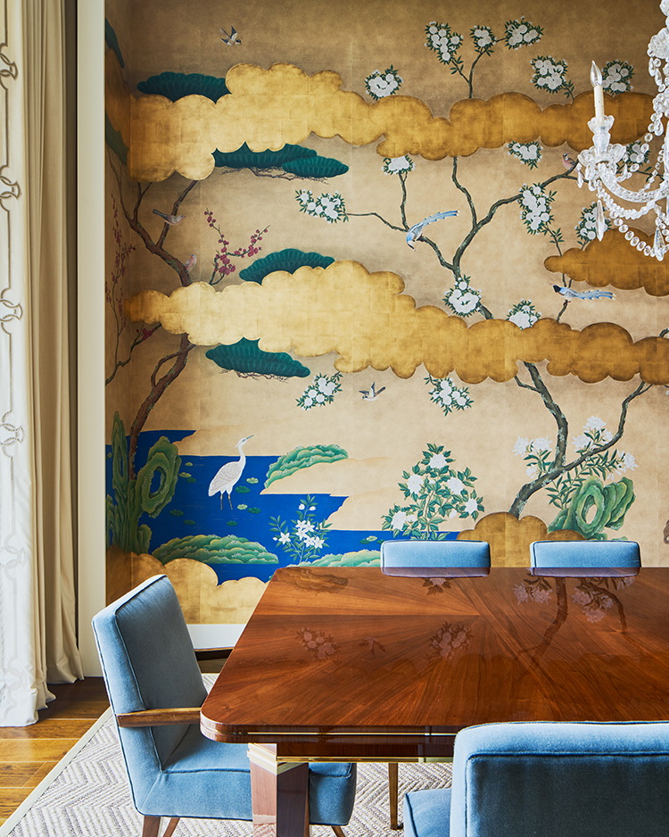 dining rooms mural