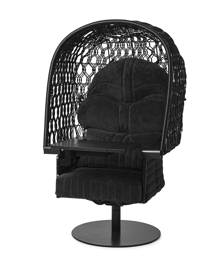 Star Wars furniture line Darth Vader armchair