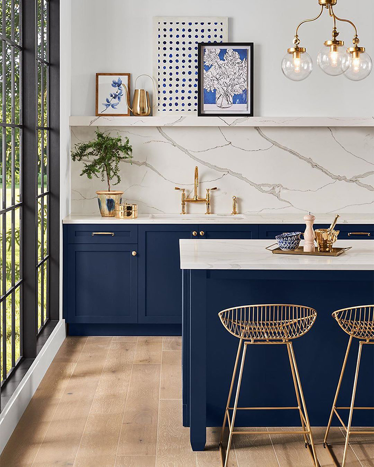 Sherwin Williams 2020 color of the year naval blue
