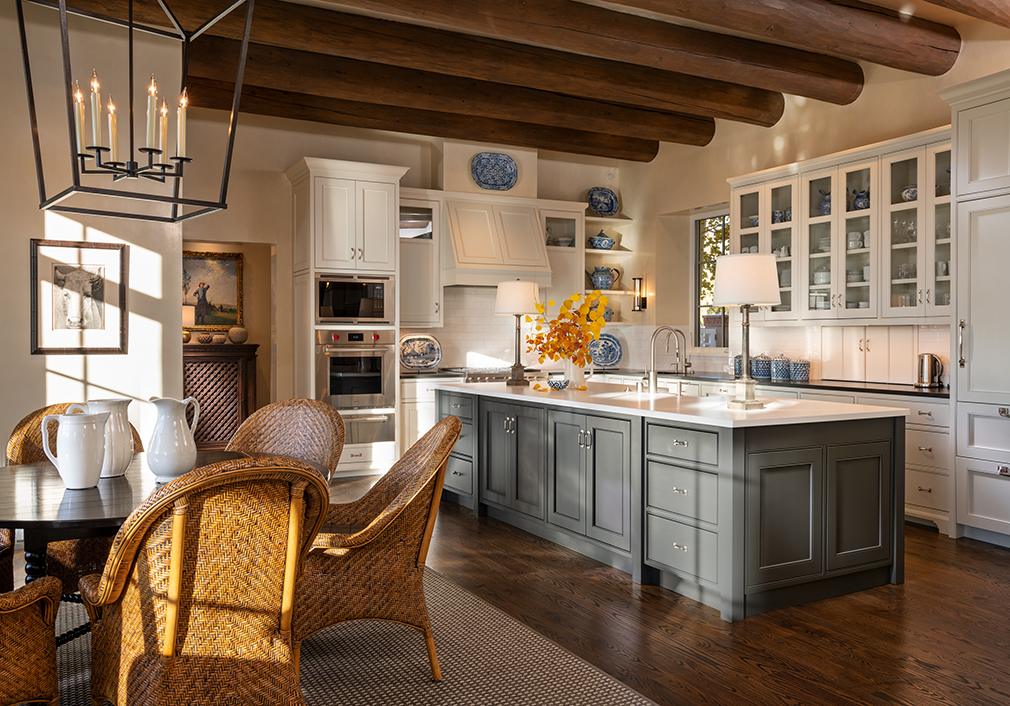 santa fe residence kitchen