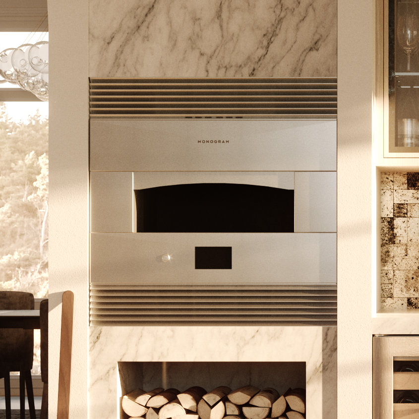 Smart Hearth Oven From Monogram Appliances