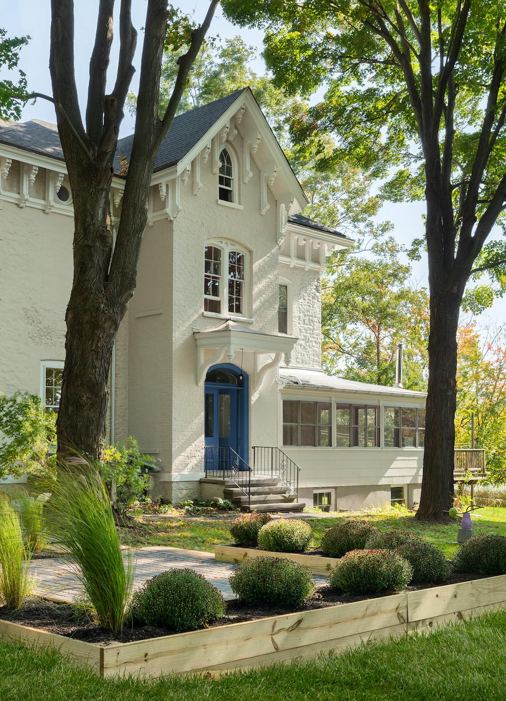 kingston design showhouse exterior