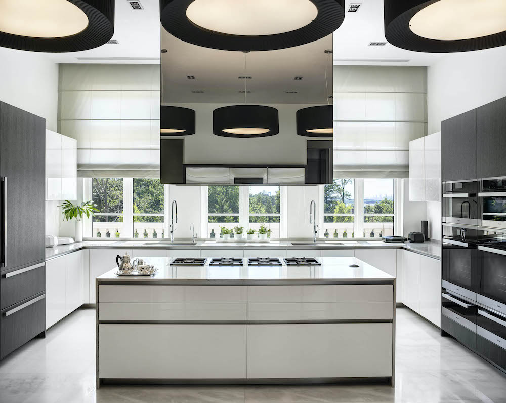 modern kitchen in a long island home