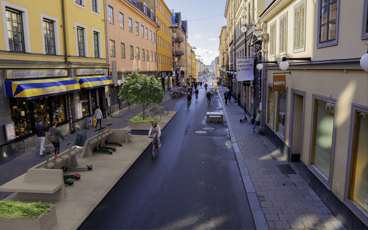 sweden street moves initiative