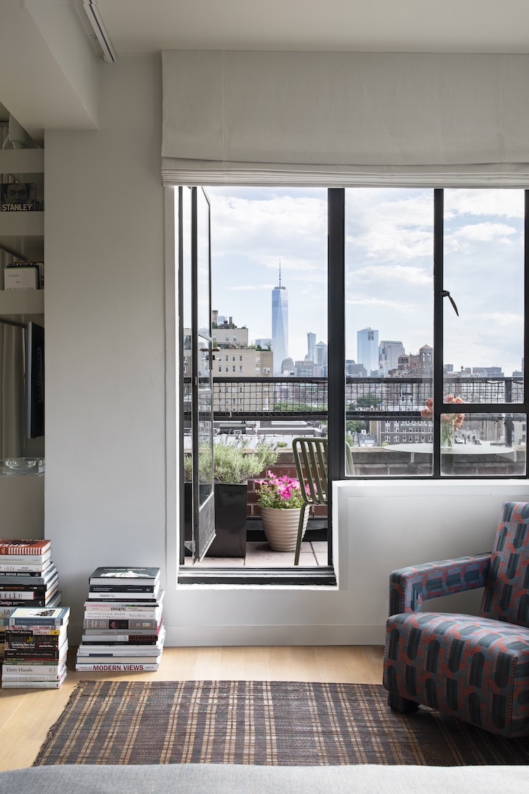 Greenwich Village penthouse view
