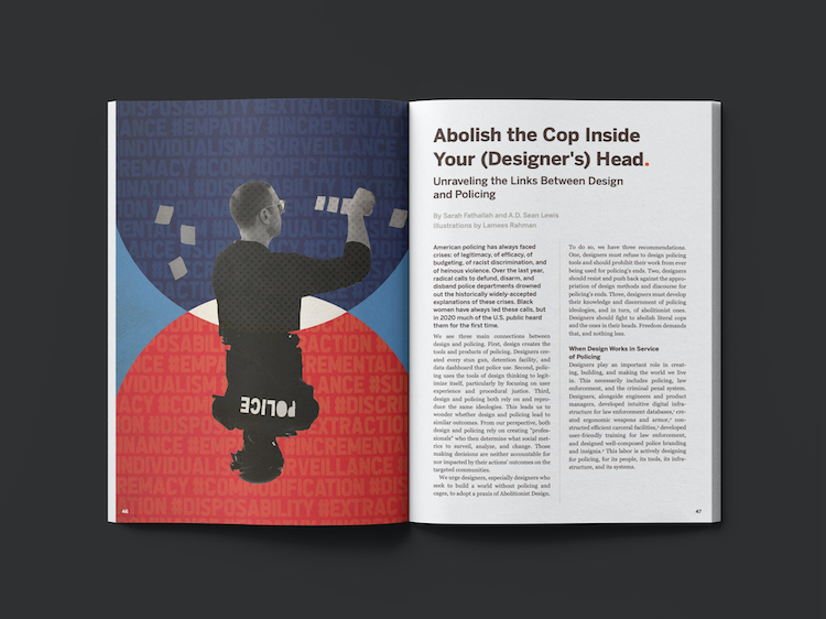 design museum magazine the policing issue
